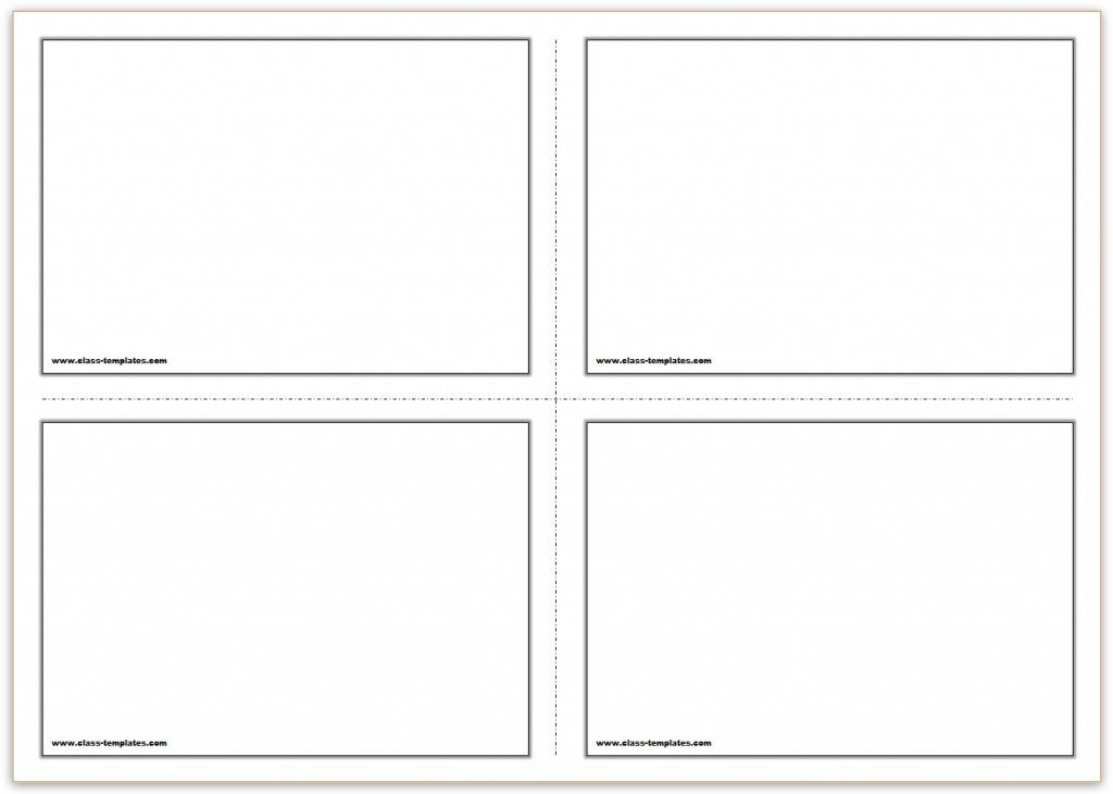Free Printable Flash Cards Template | Printable Flash Card Maker
