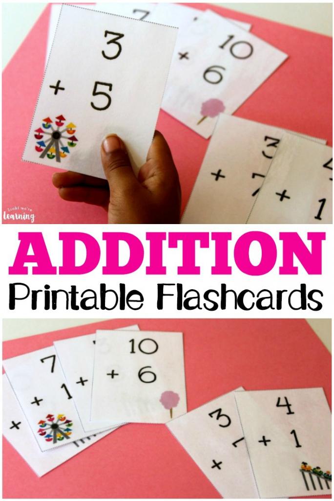 Free Printable Flashcards: Addition Flashcards 0-10 | Free Printable Addition Flash Cards