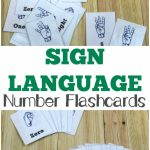 Free Printable Flashcards: Asl Number Flashcards | Sign Language Flash Cards Free Printable