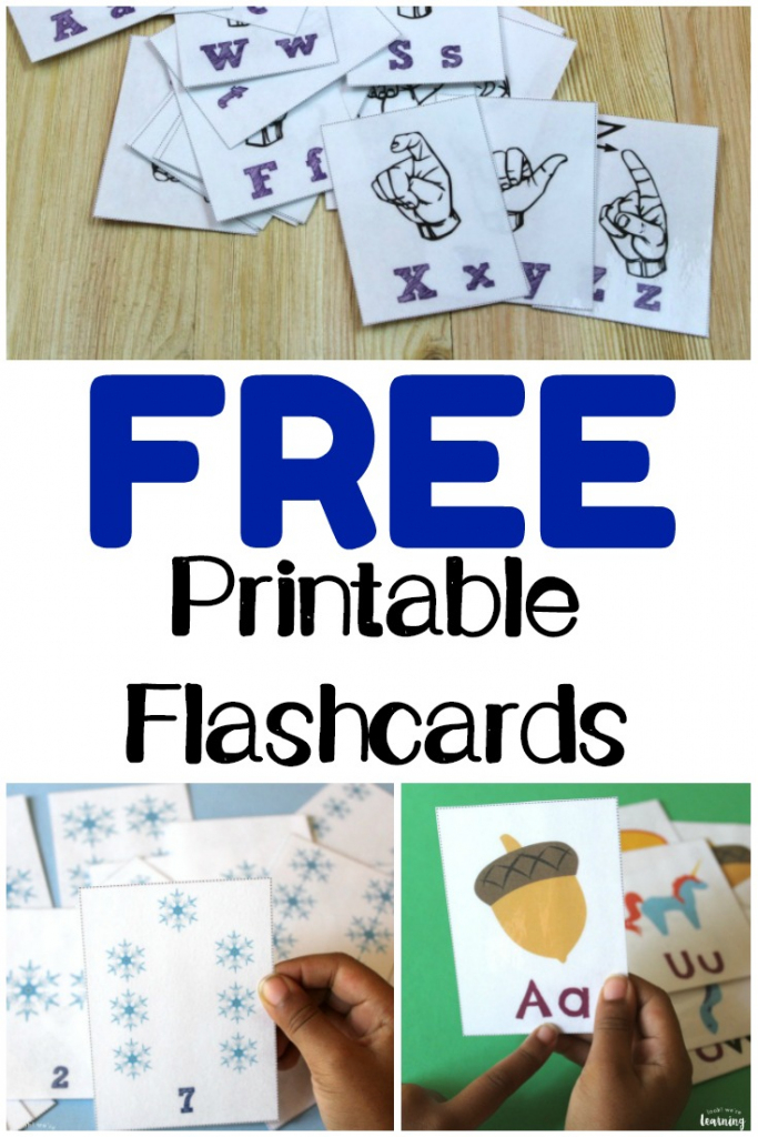 Free Printable Flashcards - Look! We're Learning! | Free Printable Flash Cards
