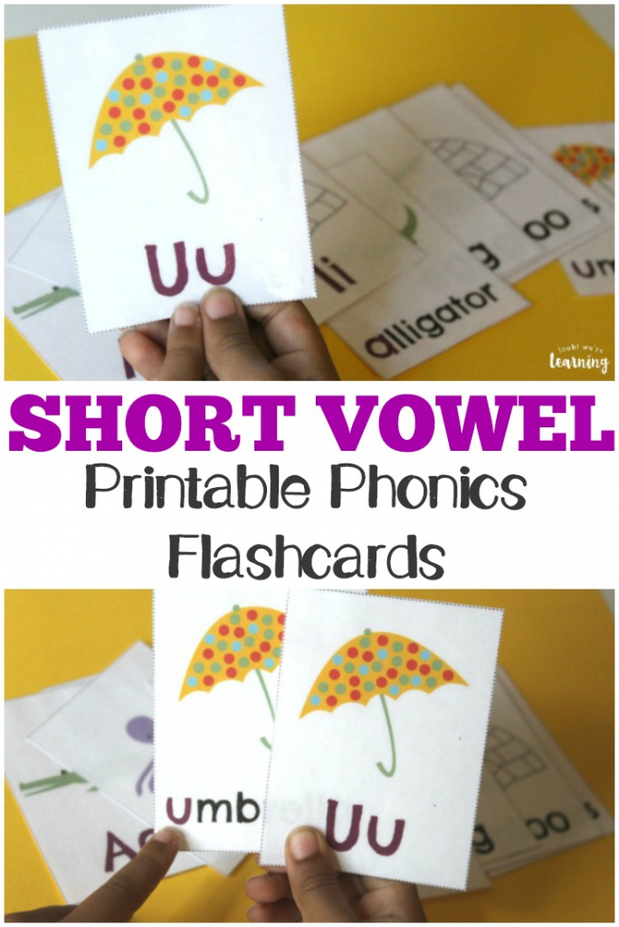 Free Printable Flashcards: Short Vowel Flashcards | Printable Picture Cards For Phonics
