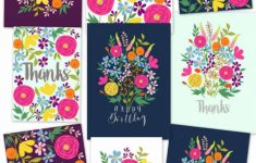 Free Printable Flower Greeting Cards – A Piece Of Rainbow | Free Printable Greeting Cards