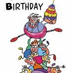 Free Printable Funny Birthday Greeting Card | Gifts To Make | Free | Printable Birthday Cards For Boys