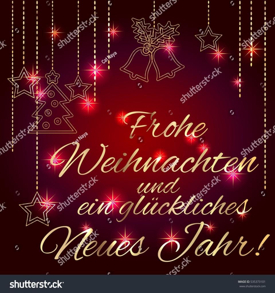 Free Printable German Christmas Cards – Festival Collections | Free Printable German Christmas Cards