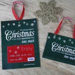 Free Printable| Gift Card Holder Spend Christmas | Printable Visa Gift Cards