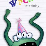Free Printable Greeting Cards   The Kids Love To Make Cards With   Free Printable Kids Birthday Cards Boys