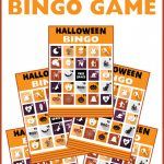 Free Printable Halloween Bingo Cards | Catch My Party | Printable Halloween Bingo Cards For Classroom