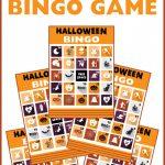 Free Printable Halloween Bingo Cards | Catch My Party | Printable Halloween Bingo Cards For Classroom