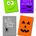 Free Printable Halloween Cards – Fun For Christmas & Halloween | Free Printable Halloween Cards