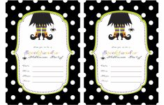 Free Printable Halloween Invitations Templates – Kleo.bergdorfbib.co | Free Printable Halloween Cards