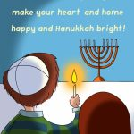 Free Printable Hanukkah Bright Greeting Card | Paperie | Hanukkah | Printable Hanukkah Cards To Color