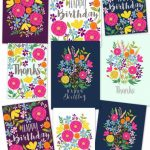 Free Printable Happy Birthday Card With Pop Up Bouquet   A Piece Of | Free Printable Pop Up Birthday Card Templates