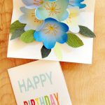 Free Printable Happy Birthday Card With Pop Up Bouquet | Cool Crafts | Free Printable Pop Up Birthday Card Templates