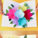 Free Printable Happy Birthday Card With Pop Up Bouquet | Printables | Create Greeting Cards Online Free Printable