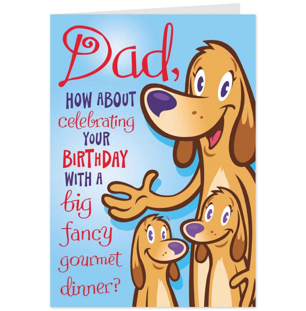 Free Printable Happy Birthday Cards For Dad | Free Printable | Free Printable Birthday Cards For Dad