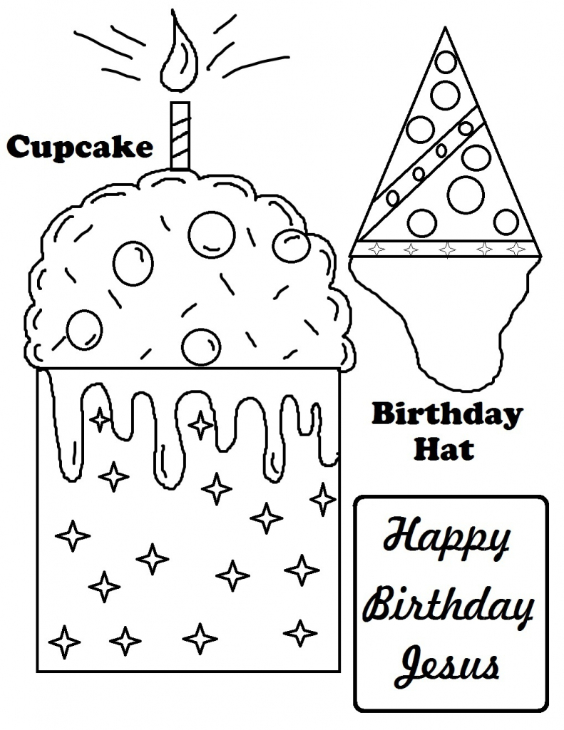 Free Printable Happy Birthday Coloring Pages For Kids | Printable Coloring Birthday Cards