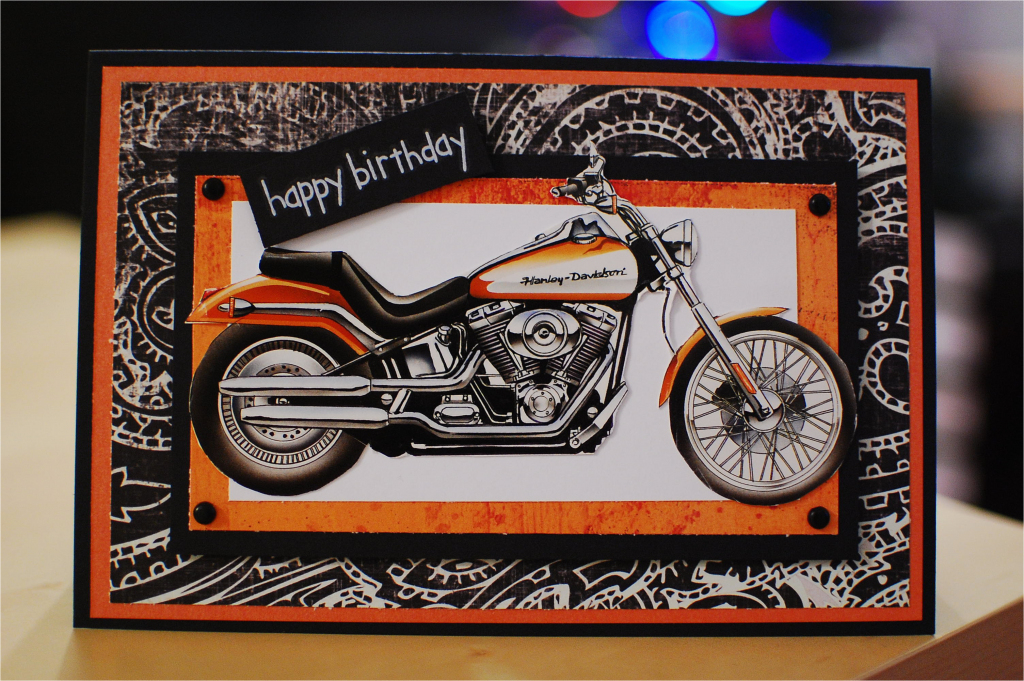 Free Printable Harley Davidson Birthday Cards | Birthdaybuzz | Harley Davidson Cards Printable