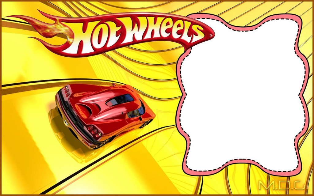 Free Printable Hot Wheels Invitation Templates For Download | Hot Wheels Birthday Cards Printable