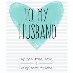 Free Printable Husband Greeting Card | Diy | Free Birthday Card | Free Printable Love Greeting Cards