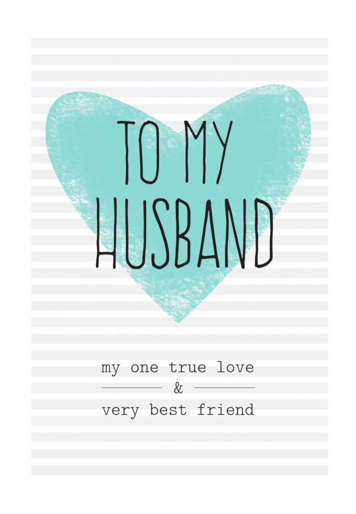 Free Printable Husband Greeting Card | Diy | Free Birthday Card | Free Printable Love Greeting Cards