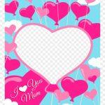 Free Printable I Love You Mom Greeting Card With Add   Mom Greeting | Free Printable Love Greeting Cards
