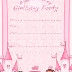 Free Printable Invitation. Pinned For Kidfolio, The Parenting Mobile | Free Printable Princess Invitation Cards