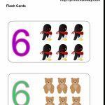 Free Printable Kindergarten Math Flashcards | Counting Flash Cards Printable