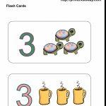 Free Printable Kindergarten Math Flashcards | Printable Picture Cards For Kindergarten
