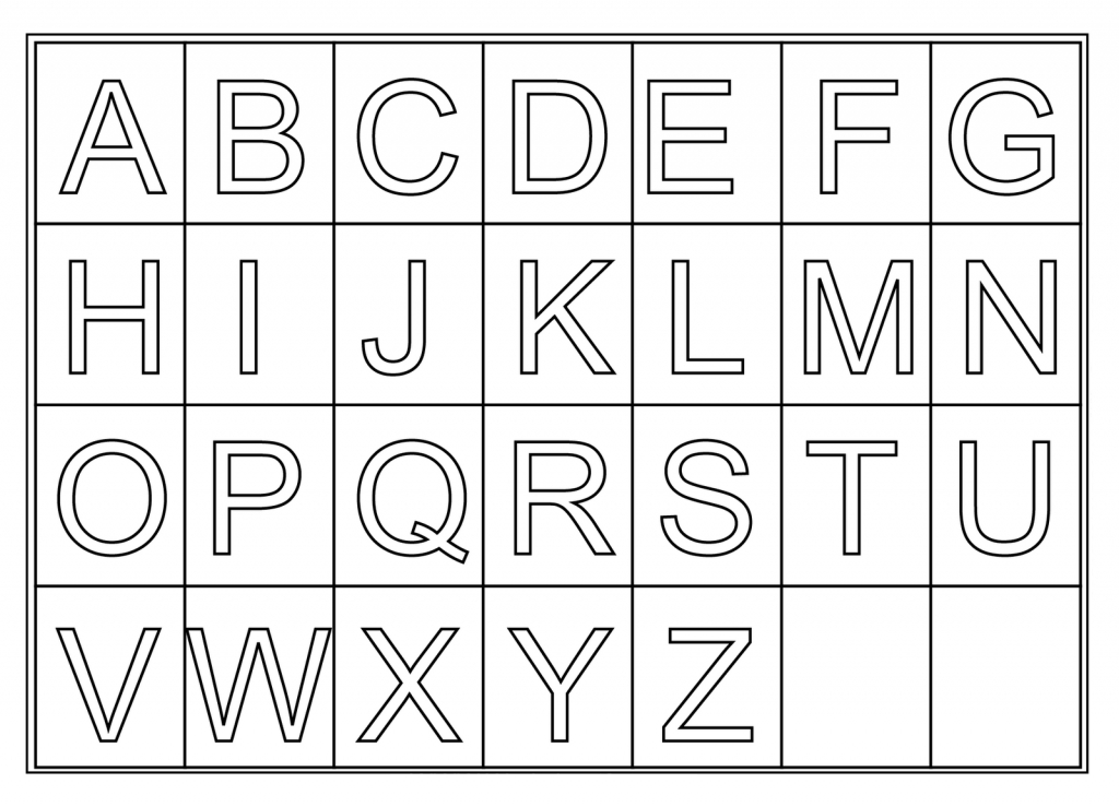 Free Printable Letters, Download Free Clip Art, Free Clip Art On | Printable Alphabet Cards Without Pictures