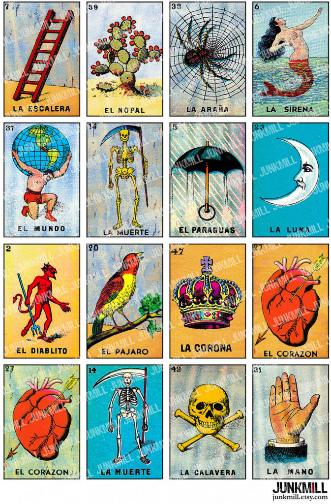 Free Printable Mexican Loteria Cards - Printable Cards | Loteria Printable Cards Free