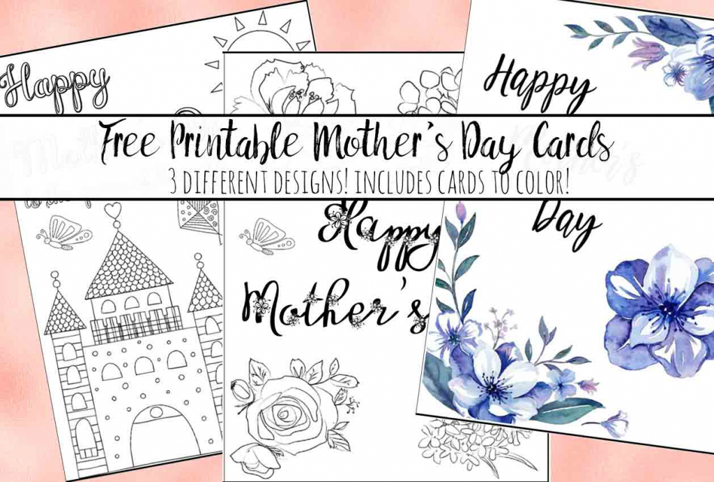 Free Printable Mother's Day Cards (Some Of Them You Can Color!) | Printable Mothers Day Bingo Cards