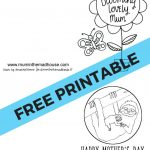 Free Printable Mother's Day Cards To Colour   Mum In The Madhouse | Printable Mothers Day Cards For Kids To Color