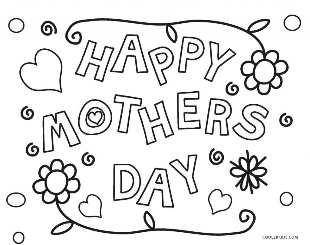 Free Printable Mothers Day Coloring Pages For Kids | Cool2Bkids | Free Printable Mothers Day Coloring Cards