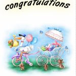 Free Printable New Baby Congratulations Greeting Card | Cards  Baby | Congratulations On Your Baby Girl Free Printable Cards