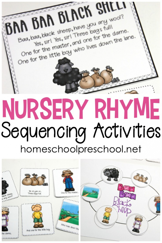 Free Printable Nursery Rhyme Sequencing Cards And Posters | Rhyming Picture Cards Printable