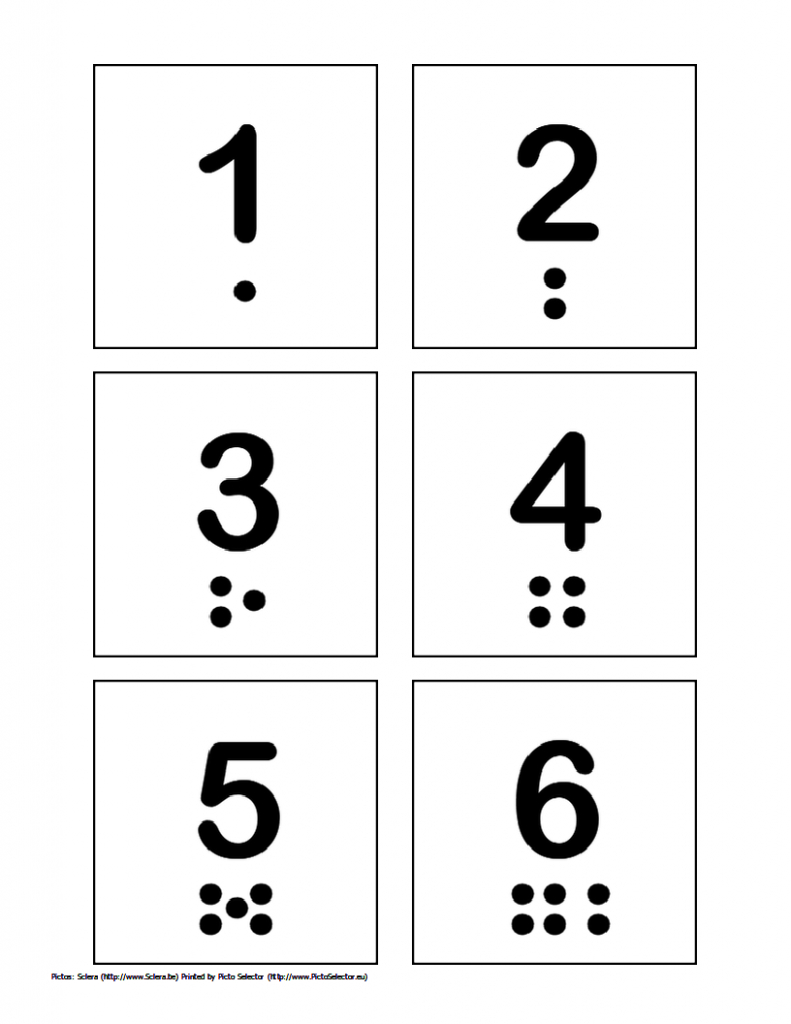 Free Printable Pecs – Numbers 1 Through 10   Pecs/visual Schedule   Free Printable Number Cards