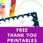 Free Printable Personalized Thank You Cards   Homemade Thank You | Free Personalized Thank You Cards Printable