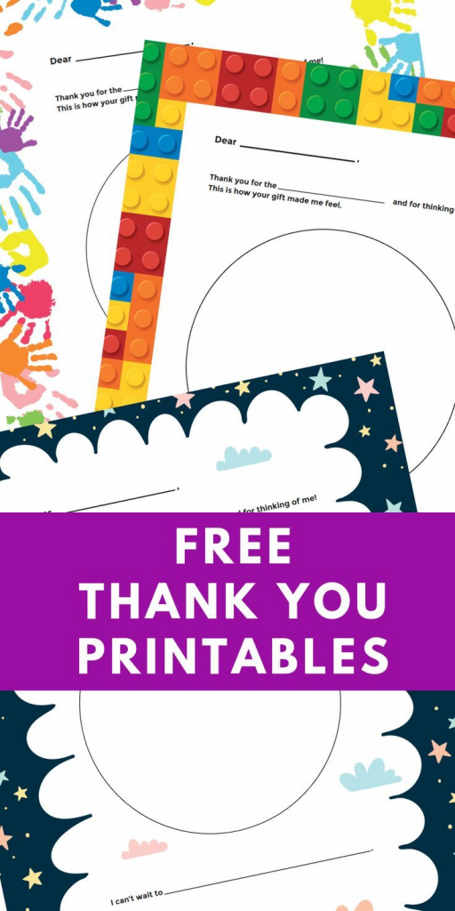 Free Printable Personalized Thank You Cards - Homemade Thank You | Free Personalized Thank You Cards Printable
