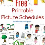 Free Printable Picture Schedule Cards   Visual Schedule Printables | Free Printable Picture Schedule Cards