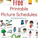 Free Printable Picture Schedule Cards   Visual Schedule Printables | Free Printable Schedule Cards For Preschool