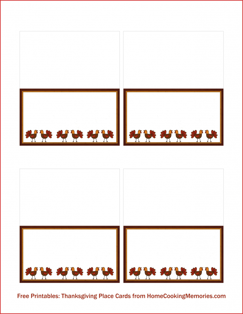 Free Printable Place Card Templates Christmas | Free Printables | Free Printable Place Cards Template