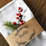 Free Printable Place Cards & Customizable Download For Names! | Free Printable Place Card Templates Christmas