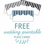 Free Printable Place Cards | The Budget Savvy Bride | Free Printable Place Cards