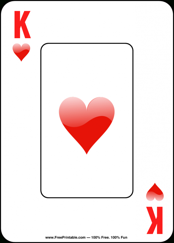 Free Printable Playing Cards   Free Printable Deck Of Cards