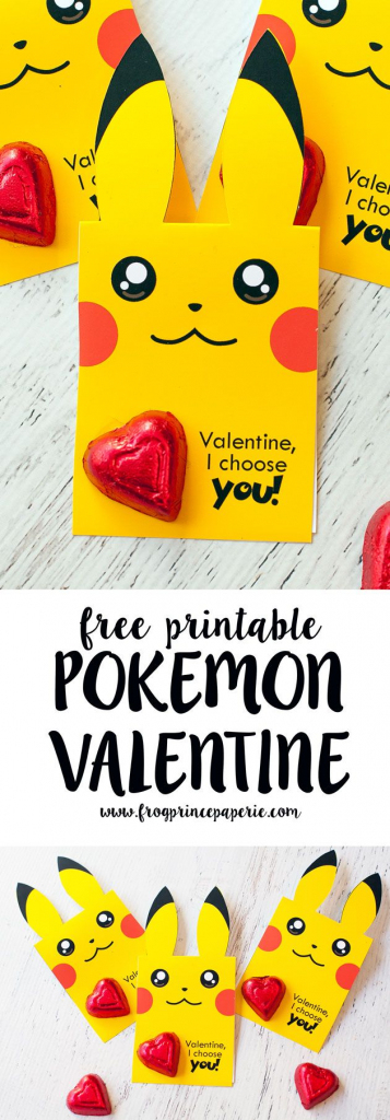 Free Printable Pokemon Valentine | Valentines Day | Valentines | Pokemon Valentine Cards Printable