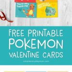Free Printable Pokemon Valentines Cards Your Kids Will Be Begging | Free Printable School Valentines Cards