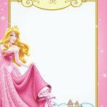 Free Printable Princess Invitation Templates   Princess And My   Free Printable Princess Invitation Cards