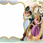 Free Printable Princess Rapunzel Invitation | Birthday Party | Printable Rapunzel Birthday Card