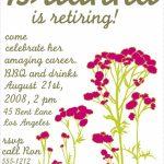 Free Printable Retirement Party Invitations Templates | Betsy's | Free Printable Retirement Cards