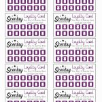 Free Printable Scentsy Business Cards Lovely Free Printable Loyalty | Free Printable Loyalty Card Template